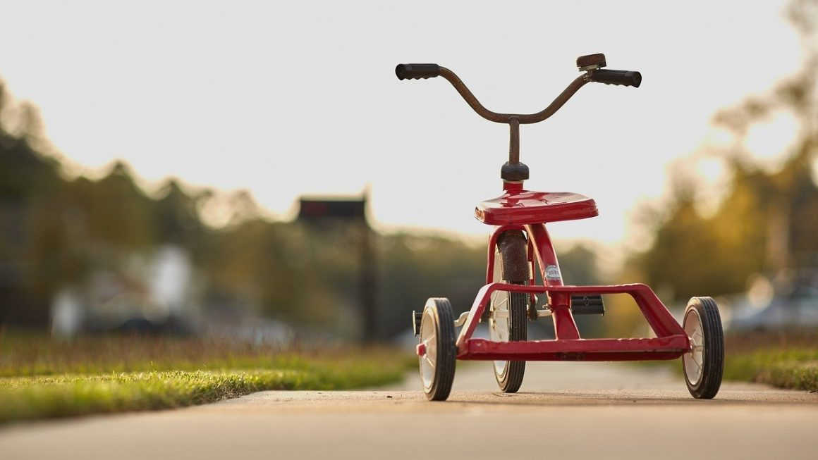Tricycle évolutif enfant